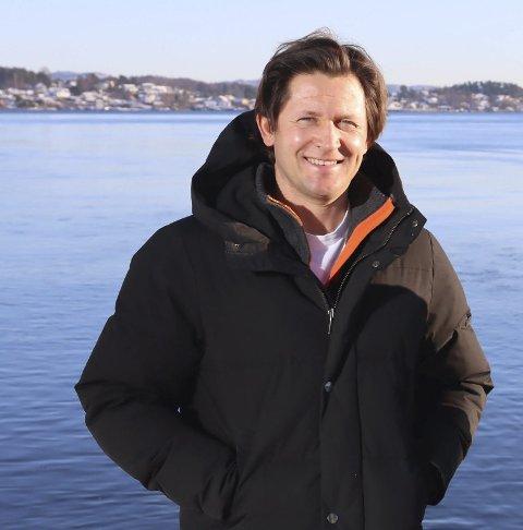 Espen Borgir Christophersen fra Norsk Vind sier at de ikke gir opp å få til en etablering av vindkraftproduksjon i Grenland.