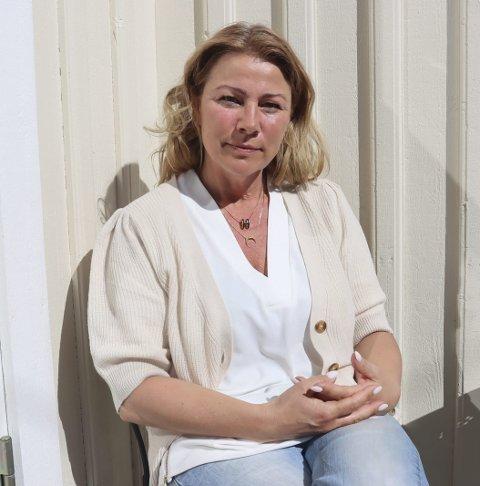 MELD DERE: Aps Janicke Andreassen vil at deltakerne på damefesten melder seg for kommunens smittesporere snarest.