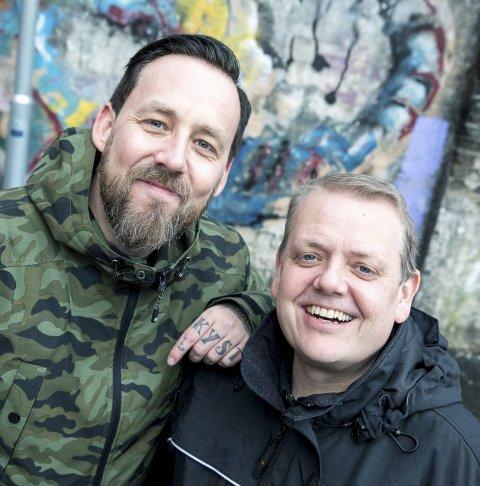 NYTT: Rune Nilson og Tarjei Strøm er programedere i den nye NRK-satsingen Norge nå. Foto: Eivind Senneset, NRK
