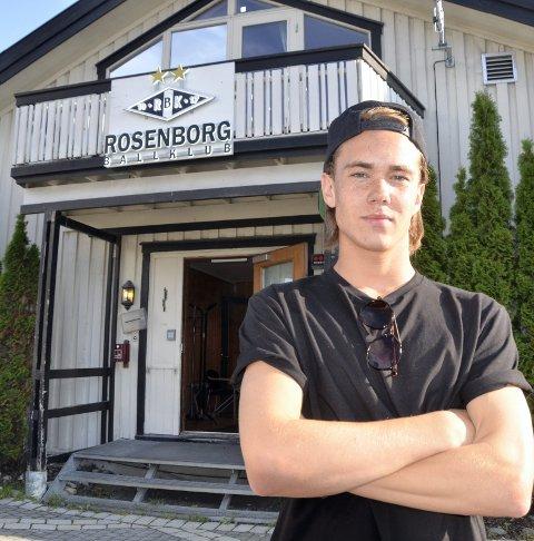 Ny sjanse: Joachim Olufsen gikk til Rosenborg i 2014. Nå får han en ny mulighet på øverste nivå med Ranheim. Foto: Trond Isaksen