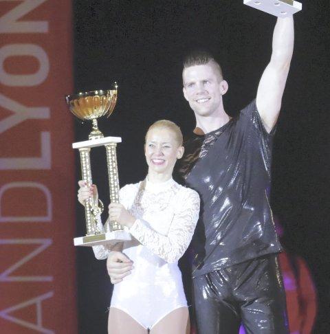 Historisk seier: Steinar Berg og Anne Ragnhild Olstad.