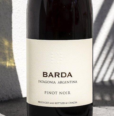 Bod. Chacra Barda Pinot Noir 2015, kr 239,70.