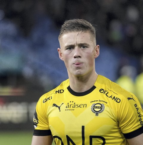 Klar melding: Fredrik Krogstad lo godt av kommentarene til Tobias Salquist om redselen hans for å miste Vålerenga-kampen. Foto: NTB scanpix