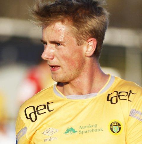 Tilbake fra benken: Sebastian Remme Berge.