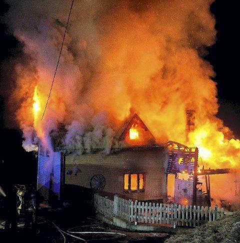 FELLES: Det jobbes mot felles brannvesen for Nye Asker.