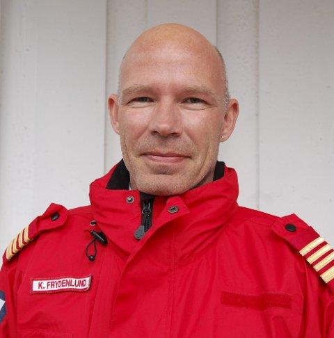 TRAVEL: Kjetil Frydenlund i Buskerud Røde Kors Hjelpekorps.