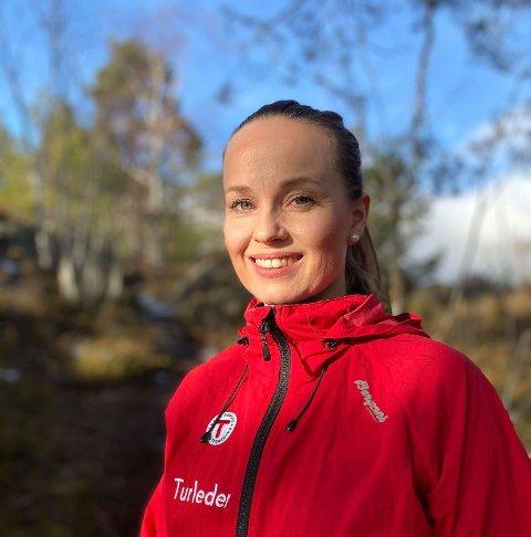 TURLEDER: Kaja Høgås (39) er turleder i den ferske turgruppen DNT Aktiv i Asker Syd. Turene vil variere fra rolige turer med bål og kos, til treningsturer med høy puls.