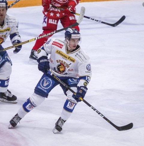 En av: Martin Martinsen var en av tre Spartaspillere som var med på U20 landslaget.