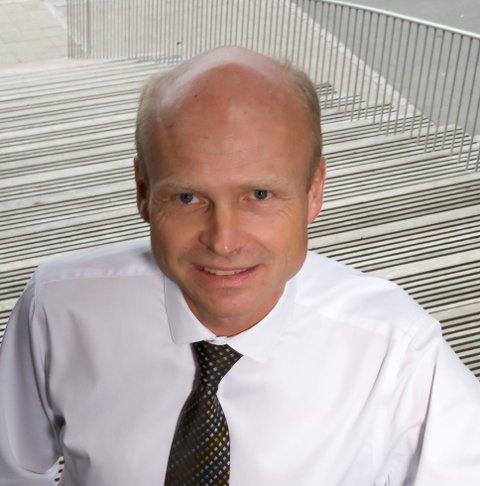 BANKSJEF: Rune Iversen, Marker Sparebank. ARKIVFOTO