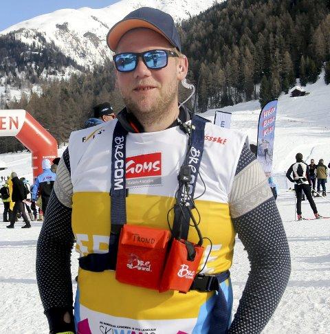 KLAR: Trond Wiggo Hagen fra Spydeberg er smøresjef for Norge – og opplever suksess.