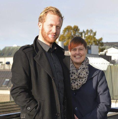Yrkesfagløft: Ådne Naper (SV) og Maja Foss Five (Ap).
