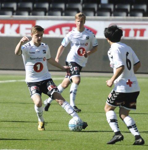 TAPTE: Marius Bustgaard Larsen og Odd II tapte.