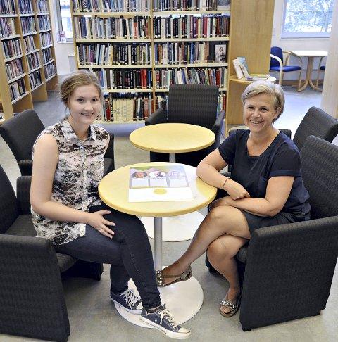 Ida Ørjansen Heggem ønsket seg et tilbud som gir faglig påfyll på fritiden. Biblioteksjef Elisabeth Soleim tente på ideen, og nå blir det Påfyll.
