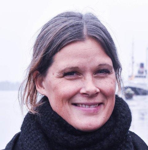 GLEDER SEG: Cecilie Sørumshagen, leder for Tønsberglivet.