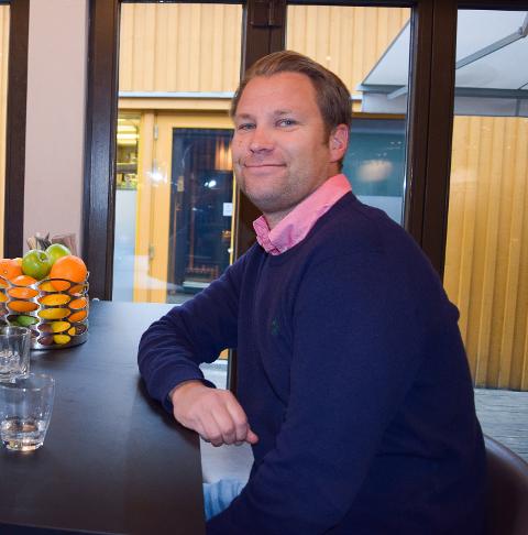 FORNØYD: Jon Terje Johnsen er fornøyd med å kunne åpne restauranten og Foynhagen igjen.