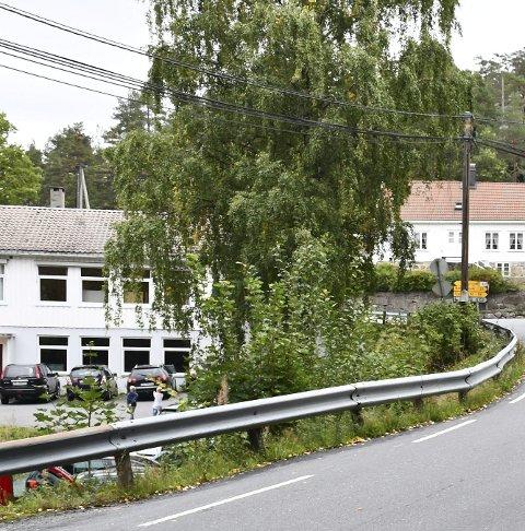 Kontroll: Onsdag morgen var det kontroll ved Dypvåg skole.
