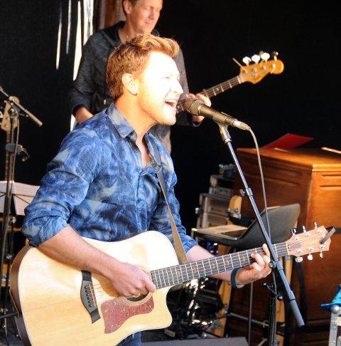 Vokal: Gunnar Dahlen imponerte med sin stemmeprakt, og aldri har stemmen hans kommet så godt fram på en konsert.