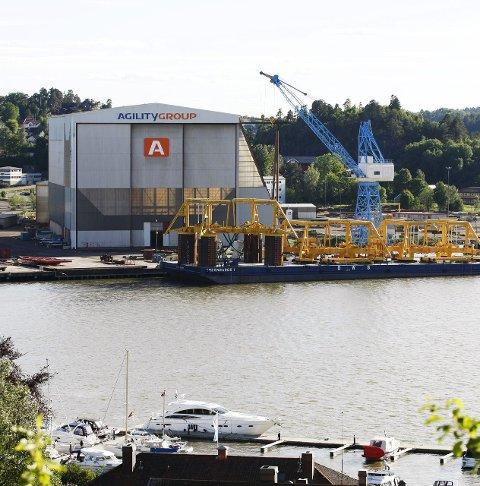 NY ORDRE: Sikrer driften hos Agility i Tønsberg.