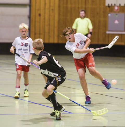 Vanskelige kamper: Fredrikstad G12 møtte tøff motstand i Plankecup og tapte hele 14-1 mot Göteborg.alle foto: kent inge olsen