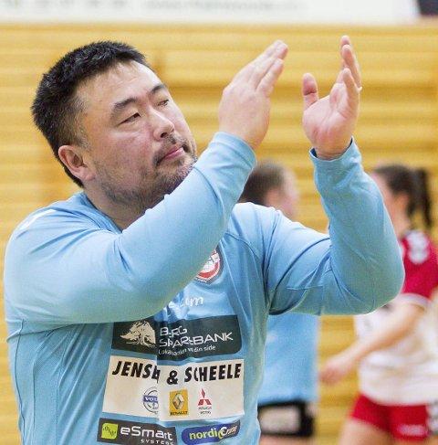 SLUTTSPILL?: Morten Holmen og hans HK Halden møter Sola søndag.