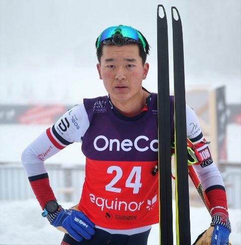 ET STYKKE BAK: Petter Stokkeland havnet langt ned på resultatlistene under Norgescupåpningen i langrenn.