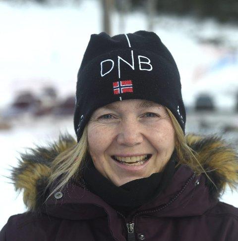 STOLT: Hege Steffensen leder KIF snowboard.