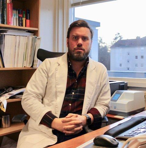 Miert Lindboe (40) fra Nordstrand ble ny kommuneoverlege fra nyttår og har ansvaret for vaksineprogrammet i Oslo.