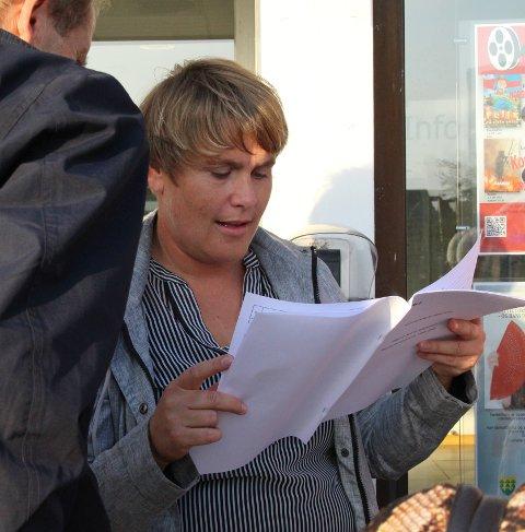 Suveren vinner: Karoline Fjeldstad (Sp) er valgets suverene vinner med 11 mandater i kommunestyret.