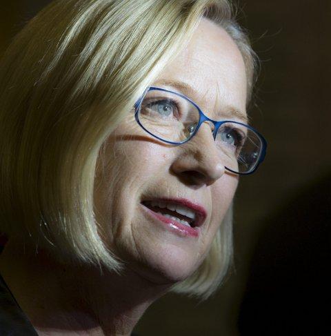 SLÅSS: Marit Arnstad vil slåss for kraftpengene.
