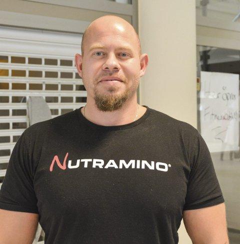 Snart klar: Roy Arne Breivik er medeier i butikken som åpner i november.