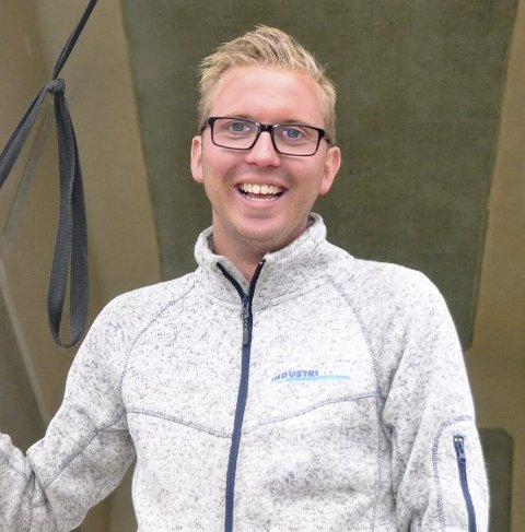 MOTORTRØBBEL: David Nordgård.