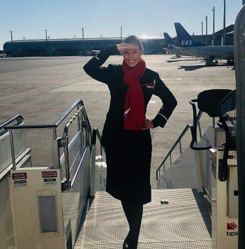 Marie Lima har trivdes godt som flyvertinne for Norwegian, og utelukker ikke muligheten for å begynne igjen i fremtiden.