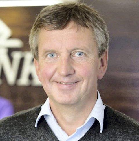 BRA: – Bra for Innlandet, mener banksjef Hans Petter Gjeterud i Grue sparebank.