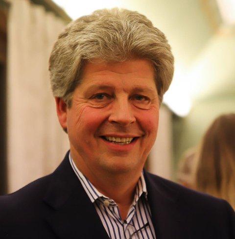 Alf Ulven, leder i Aremark Høyre.