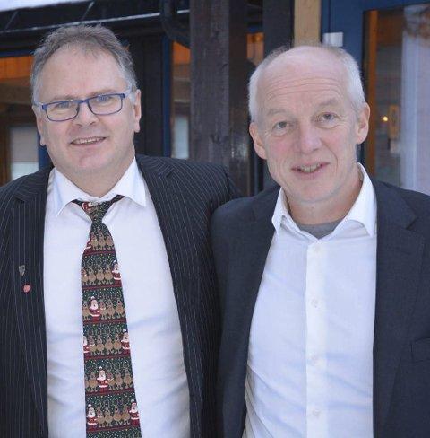 Ikke bestemt: Bjørn Ivar Lamo og Tor Stabbforsmo.  (foto: Rune Stabbforsmo)