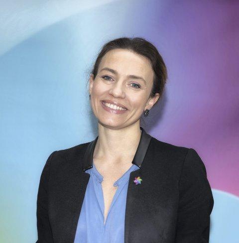 20 prosjekter: – 130 millioner kommer godt med i forskningsarbeidet, sier generalsekretær Ingrid Stenstadvold Ross. Foto: Jorunn Valle Nilsen