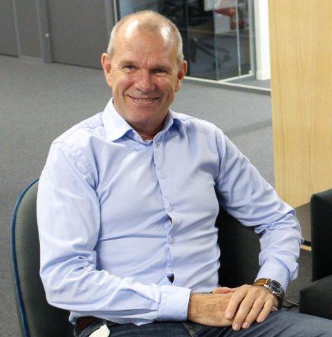 NYE UTFORDRINGER: Finn Bjørsrud i Puume Norge AS gleder seg til å ta fatt på oppbyggingen av selskapet.