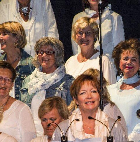 Glede: I Rakkestuten er det mye glede og leder Trude Ottem ser fram til jubileumskonsert denne uken.