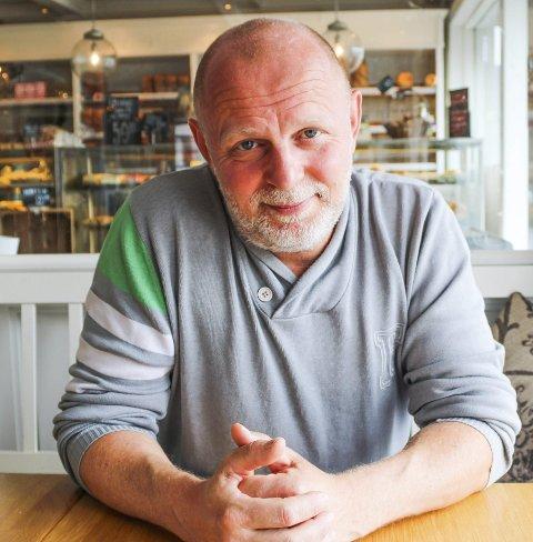 DRIVER STEDET: Rune Studsrød.
