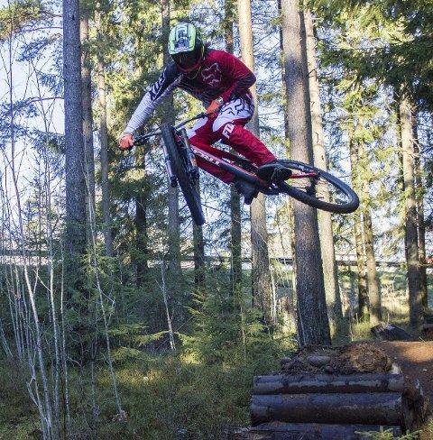 STORE PLANER: Brage Vestavik har drevet med sporten downhill siden han var seks år og drømmer om å bli verdensmester.