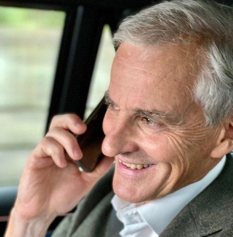 RINGTE: – Er det Glåmdalen? Jonas Gahr Støre setter inn støtet i Kongsvinger for å vinne valget.