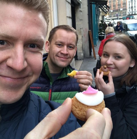 Trond Vardehaug Thuen skal sammen med samboeren Aleksander Vardehaug Thuen og datteren Emely Louise Thuen Bjerknes åpne bakeriet Onkel Svanhild.