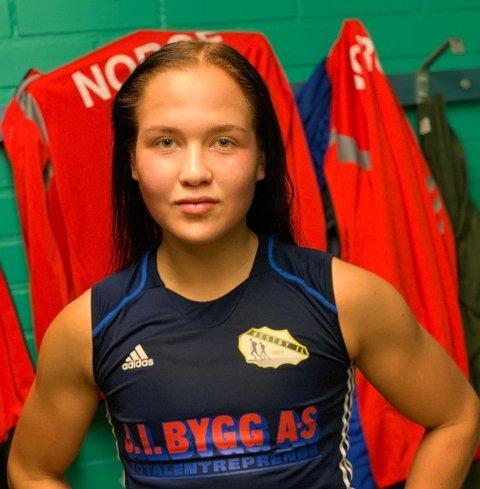 TAPTE: Madeleine Angelsen tapte for sin danske konkurrent i nordisk mesterskap. Dermed brast finaledrømmen.