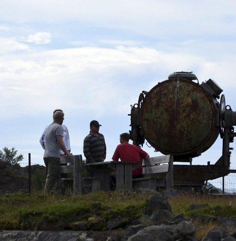 Stopp?: Festningsanlegget Batterie Dietl kan bli stengt. turistattraksjonen på Engeløya.