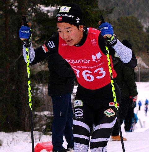 I FORM: Petter Stokkeland gikk fort på åpningsdistansen i junior-NM i langrenn.