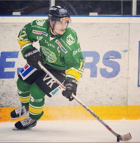TIL COMET: Tobias Björklund er klar for spill i Comet. En klasseback i målestokk norsk 1. divisjon.