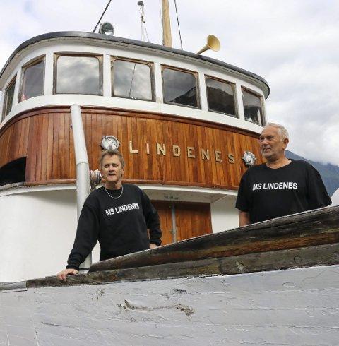 MS Lindenes: Gunnar Moland og Kai-Inge Melkeraaen.