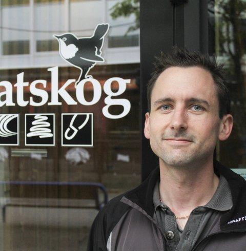 Leder: Gustav Busch Arntsen i Statskog. Foto: Jon S Linga