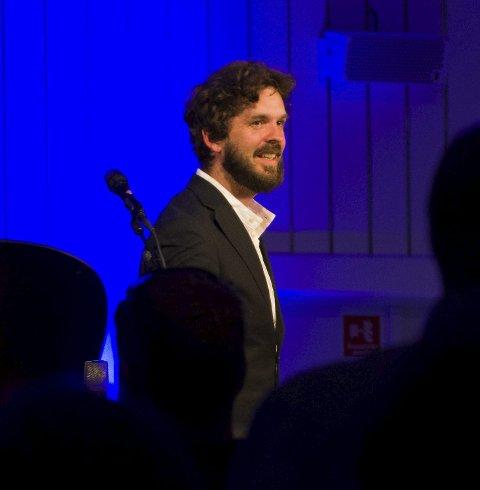 Thomas fekk ståande applaus etter opptreden.