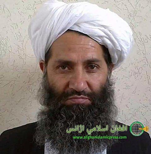 STATSMINISTERENS SJEF: Talibans øverste leder, Haibatullah Akhundzada, ventes å bli leder for den nye afghanske regjeringen.